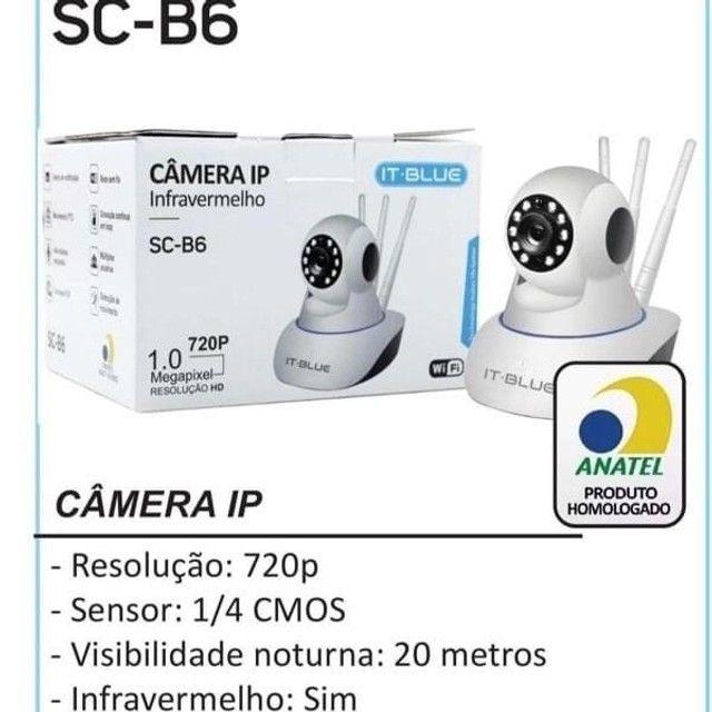 IT-BLUE CAMERA IP INFRAVERMELHO SC-B6 WIFI 1.0 720P MEGAPIXEL RESOLUÇÃO HD - Foto 3