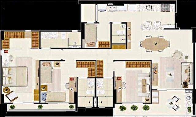 Apartamento com 3 dormitórios à venda, 112 m² por R$ 753.000,00 - Guararapes - Fortaleza/C - Foto 14