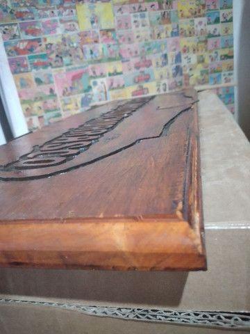Entalhes em madeira comaru maciça 1,10 x 25 cm - Foto 2