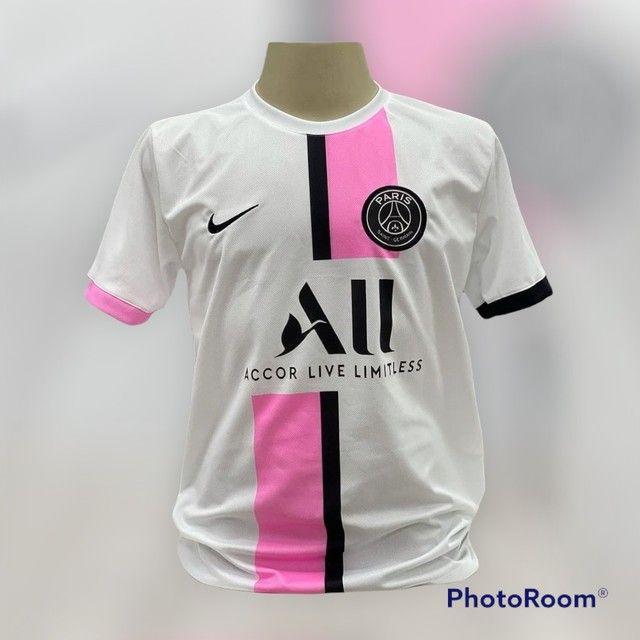 Camisa de time  1 linha nacional  - Foto 3