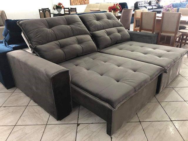 Sofá retrátil e reclinável - Foto 3