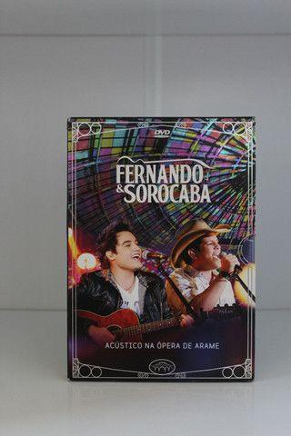 Dvd Fernando & Sorocaba : Acústico na Ópera de Arame