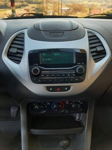 Ka SE 1.0 Hatch 2020 prata - Foto 12