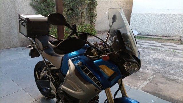 XT 1200Z - Super Ténéré 2012 - Único dono - Pneus Novos - Foto 11