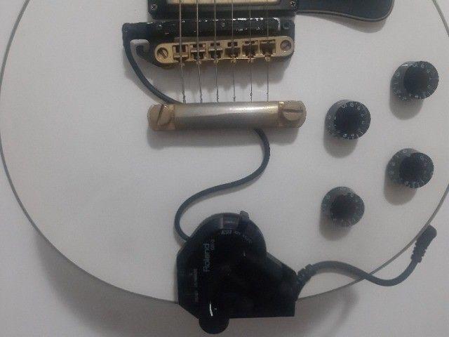 Pedaleira Sintetizador Roland Gr55 Com Gk3 - Foto 3