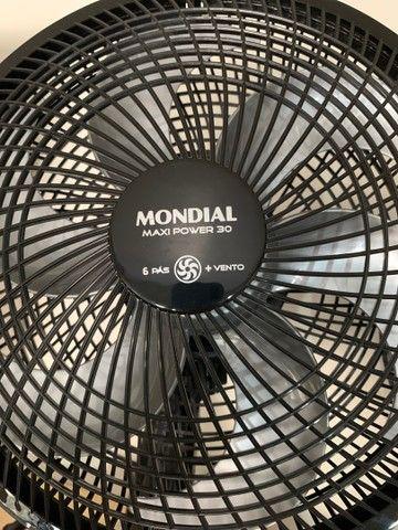 Ventilador Mondial 6 Pás 30 Centímetros 220volts (novo) - Foto 2