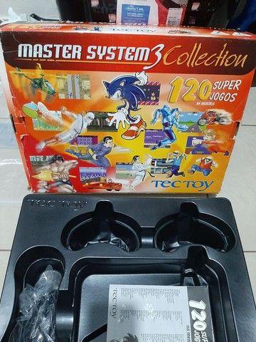 Master System 3 Collection com 120 Jogos   - Foto 3