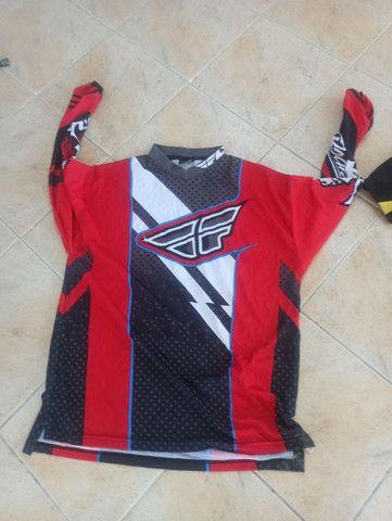 2x camisas de trilha ou motocross