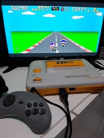 Master System 3 Collection com 120 Jogos   - Foto 5