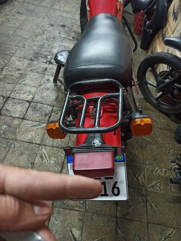 Xl125 89 vermelho doc 2021 p trasferi - Foto 2