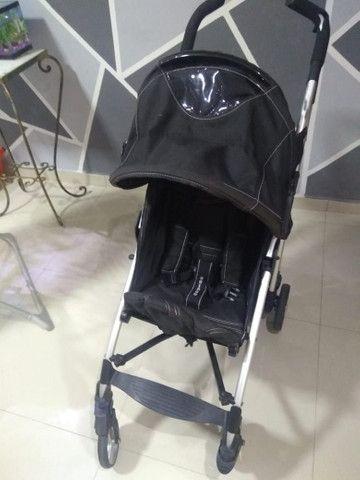 Carrinho de bebê guarda chuva chicco - Foto 3