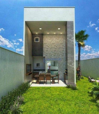 Casa com 3 dormitórios à venda, 132 m² por R$ 469.000,00 - Coité - Eusébio/CE - Foto 17