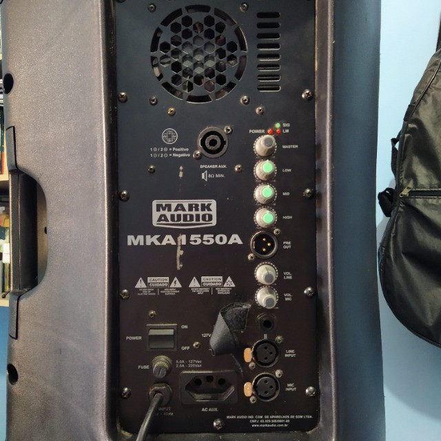 Caixa ativa MarkAudio 500w - Foto 3