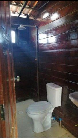 Casa de Madeira a 600 metros da CE-040 com terreno 400 m2 e deck preço de ocasião - Foto 7