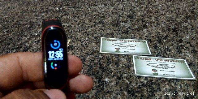 Smart Band M5 com pulseira extra - Foto 3