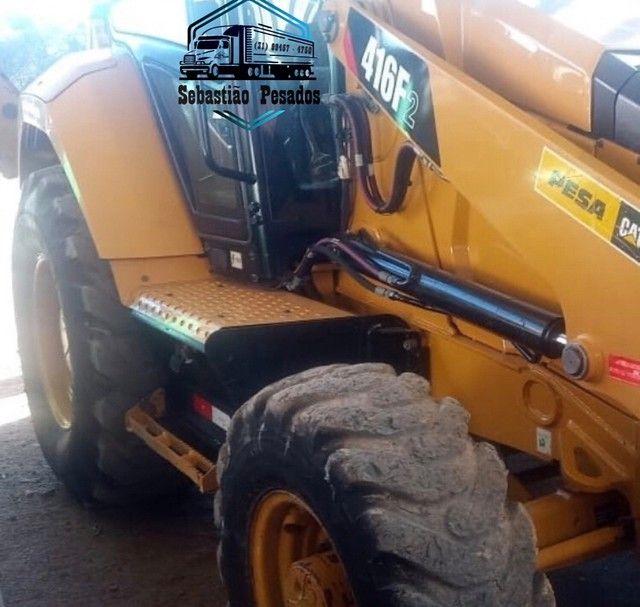 Retrô Escavadeira Caterpillar 416F2 2018  - Foto 5