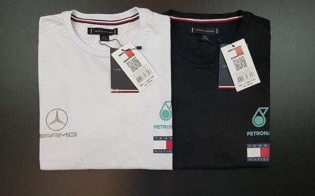 T-shirt Tommy Lewis Hamilton. - Foto 3