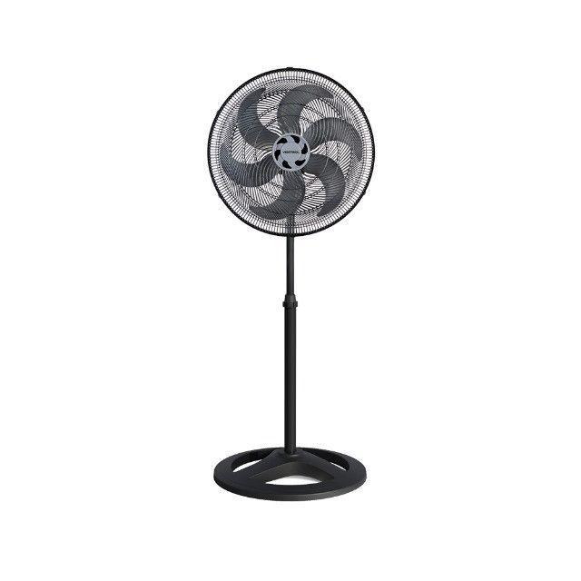Super Ofertas - Ventilador de Coluna Preto 50cm Turbo 6 Pás