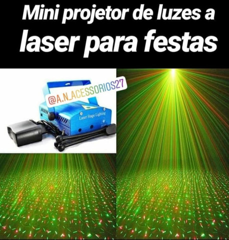Mini Projetor de luzes