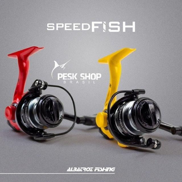 Molinete ultraligth speedfish - Foto 2