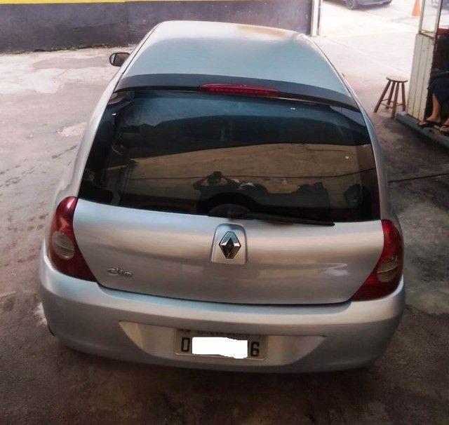 Clio Autenthic 1.0 16V 2006/2007 Flex  - Foto 5