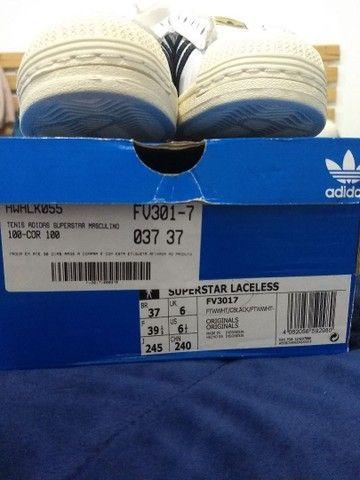Tênis Adidas original em couro legítimo - Foto 2