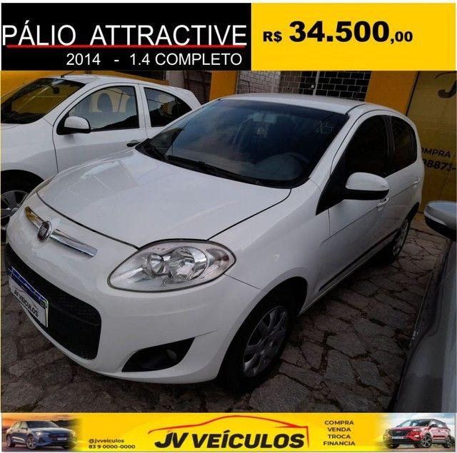 Palio attractive 1.4 completo (2014 economy) - Foto 3