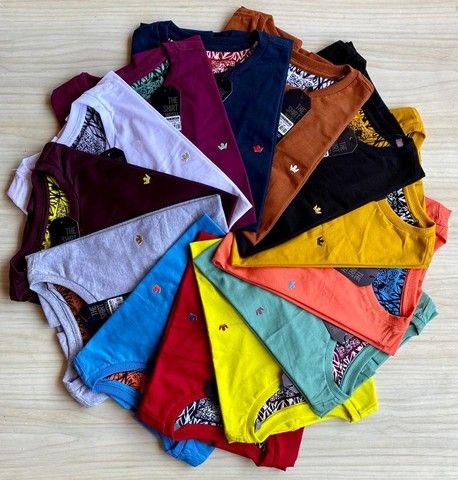 Camisas T-Shirt Básica Fio 30.1 Penteado - Foto 6
