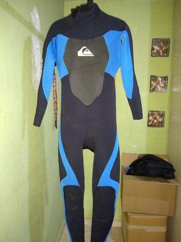 Roupa de Surf Quiksilver 3,2mm Tamanho P