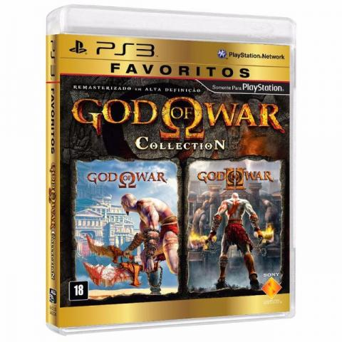 God of War Collection - GOW PS3 Jogo