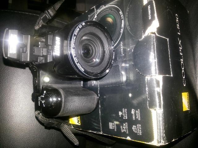 Câmera digital semi profissional nikon L830