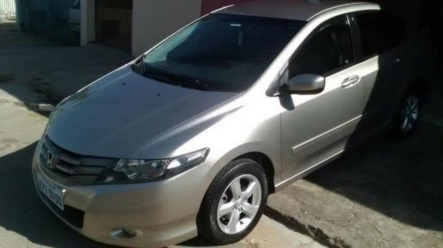 Honda City DX 11/12 Completíssimo Com Banco De Couro