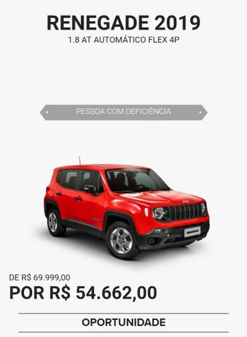 Jeep Renegade Custom 1 8 4x2 Flex 16v Mec 2019 550916588 Olx