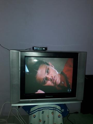 TV 21Boa,(Garantia,Troco,cartão)Entrego - Foto 4