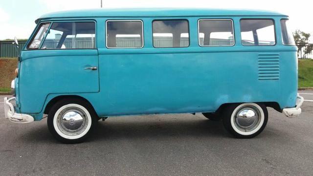 Kombi Corujinha 1964 azul, motor, suspenção, freios e elétrica nova - Foto 2