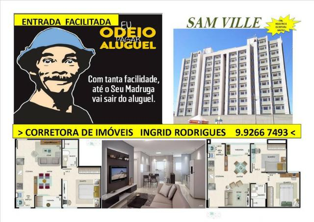 Oportunidade em Samambaia 01 e 02 quartos com ITBI, Registro e Escritura Grátis!!!