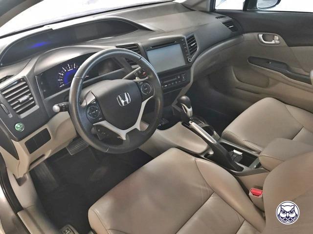 Honda Civic 2015 Sedan LXR 2.0 Flexone 16V Aut - Leia o Anuncio!!! - Foto 7