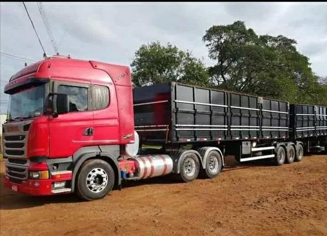 Scania R440 6x4 com bitrem 9eixos 2014