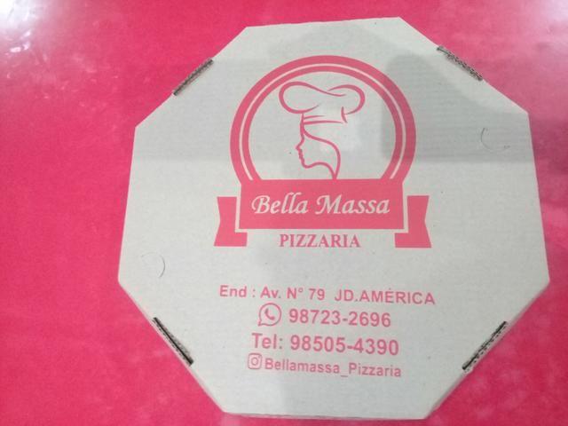 Caixa de pizza Com sua logomarca