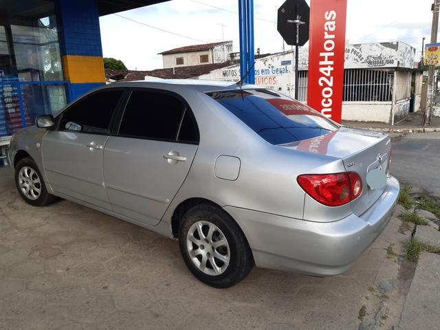 Corolla xli 2008 baixou pra vender logo - Foto 3
