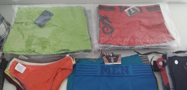 Cuecas box 3 por r$ 27,00 shorts femininos r$ 50,00 bermudas masculinas apartir de r$40,00 - Foto 3