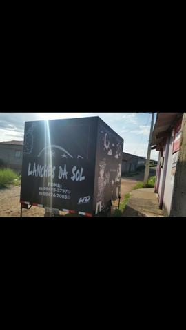 Vende- se trailer food truck ( reboque)
