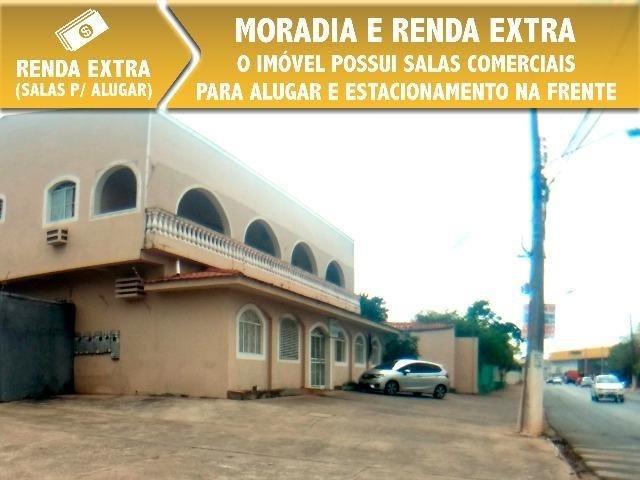 Ponto Comercial em Cuiabá Casa com Salas Comerciais - Sobrado