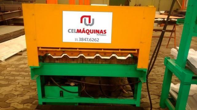 Máquina Perfiladeira p/ Telha Trapézio - Foto 3