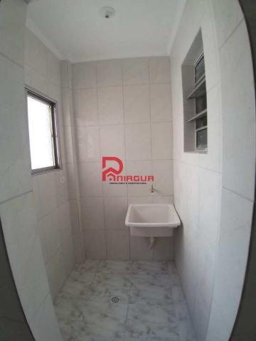 Apartamento à venda com 1 dormitórios em Boqueirão, Praia grande cod:1486 - Foto 2