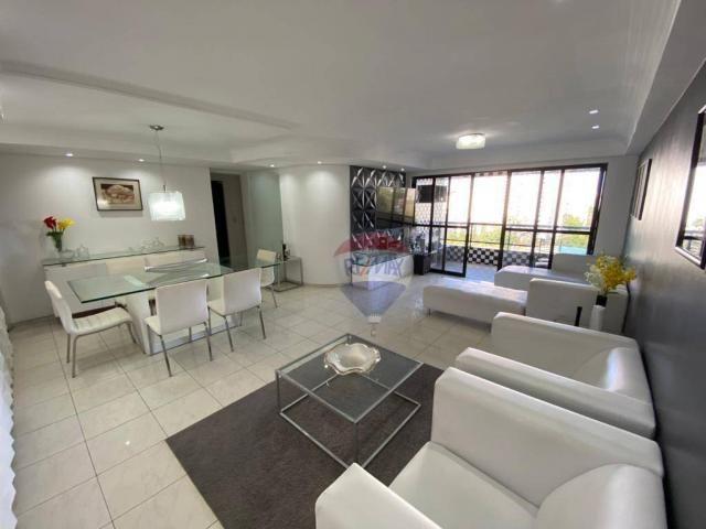 Excelente Apartamento com 4 Quartos e 3 Vagas em Casa Forte para Venda ou Locação - Foto 3