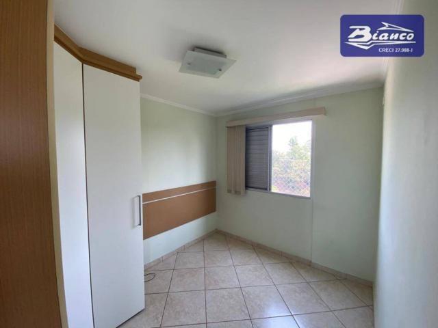 Apartamento com 2 dormitórios para alugar, 50 m² por R$ 900,00/mês - Vila Augusta - Guarul - Foto 5