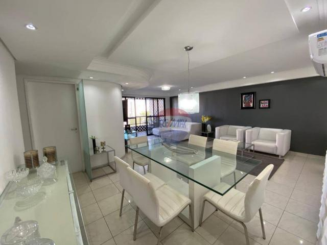 Excelente Apartamento com 4 Quartos e 3 Vagas em Casa Forte para Venda ou Locação - Foto 4