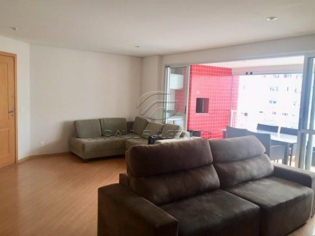 Apartamento com mobilia Área Útil 130m² 2 vagas de garagem Gleba Palhano - Foto 5