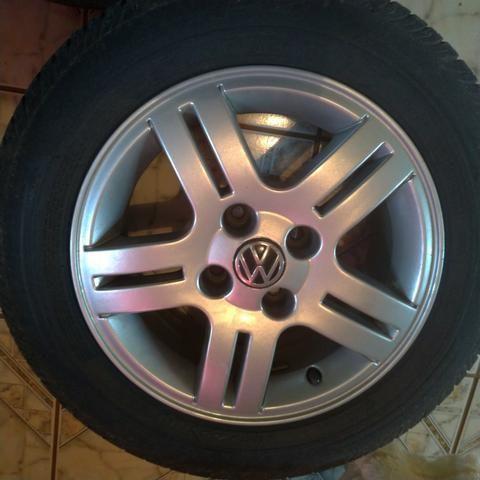 Jogo rodas Volkswagen aro 14 - Foto 4